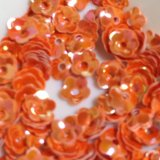 スパンコール1053 オレンジ プリンセスフラワー 1g