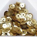 スパンコール1452 亀甲6mm ゴールド 2g