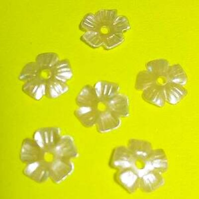 画像2: スパンコール限定284 桜7mm パールホワイト1g