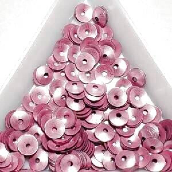 画像1: スパンコール限定269 カップ5.5mm ピンク 1g (1)